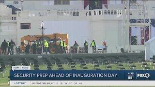 preparations underway for inauguration