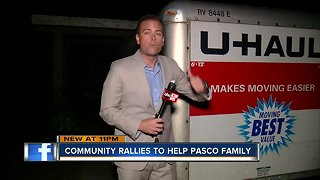 Pasco neighbors help family forced out of home after Sunday's EF-1 tornado