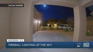 Apparent meteor lights up Valley sky Wednesday
