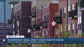 Riverfront area upset over traffic noise
