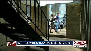 Mother Wants Answers After Son Shot