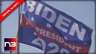 BIDEN 2020 Flag Flying at Migrant Camp Says the Quiet Part OUT LOUD