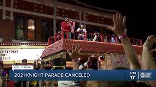 Knight Parade canceled