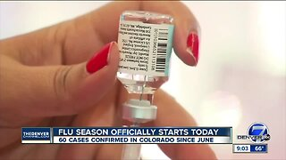 Are you ready? Flu season starts Sunday with 60 Colorado cases confirmed since June