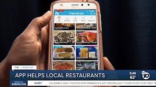 App helping local restaurants