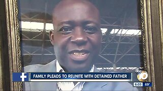 Congolese family pleads to reunite with detained father