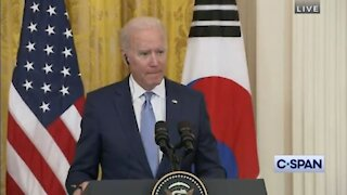 Biden says the 12 individuals is killing people, not Facebook