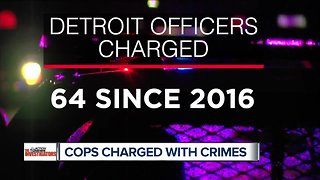 64 Detroit police officers criminally charged since 2016