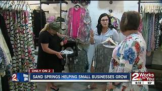 Sand Springs reaching out to small businesses