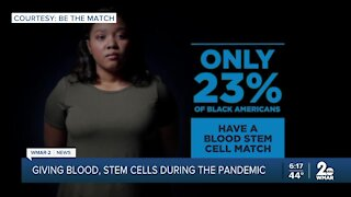 Giving blood, stem cells during the pandemic