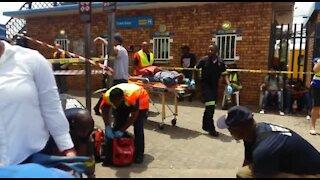 SOUTH AFRICA - Pretoria - Train collision (Videos) (rnd)