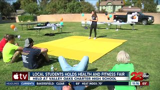 Local student held health and fitness fair