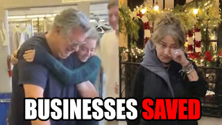 Small Businesses SAVED by Dave Portnoy's Charity