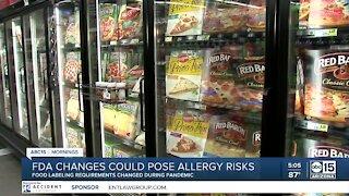 FDA change could pose allergy risks