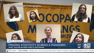 Cocopah Middle School students sing 'Lean on Me' tribute