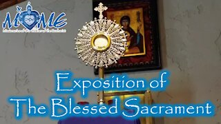 Exposition of the Blessed Sacrament | Sisters of MOME | Wed, Mar. 31, 2021