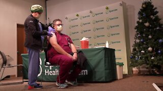 Lansing Hospitals Begin Administrating COVID-19 Vaccine