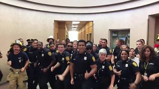 Viral video: Officers from a Virginia police department dance it out in national lip sync battle