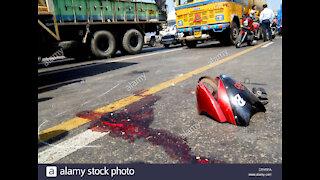 INDIA Bike accident