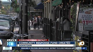 San Diego creates community response fund amid coronavirus