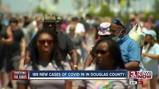 Coronavirus Case Spike in Douglas County