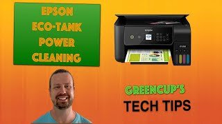 [Tech Tips #1] Epson Eco-Tank Power Cleaning Procedure