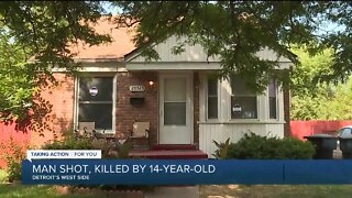 Man shot, killed by 14-year-old