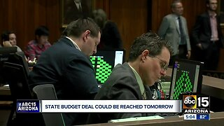 State budget deal could be reached Monday