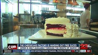 Free Cheesecake through DoorDash