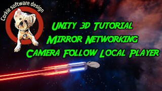 Unity3d Tutorial Mirror Networking Camera Follow Local Player
