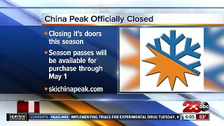 China Peak closed