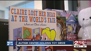 Tulsa Autism Center holds toy drive