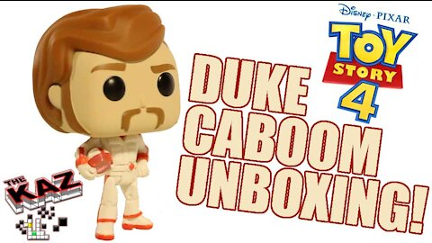 Toy Story 4 Duke Caboom Funko Pop Unboxing