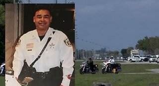 Body of PBSO deputy killed in motorcycle crash returns to Palm Beach County