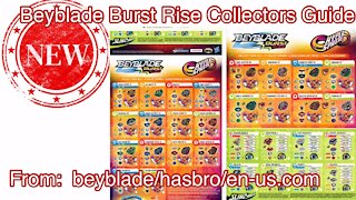 Beyblade Burst Rise Hyper Sphere 2020 Collectors Guide | NEW POSTER