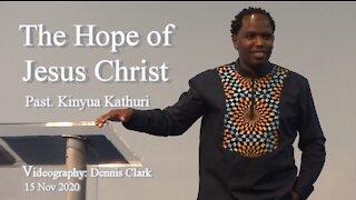 The Hope of Jesus Christ