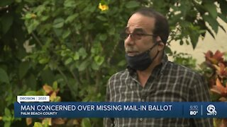 Palm Beach County voter learns ballot sent to wrong address