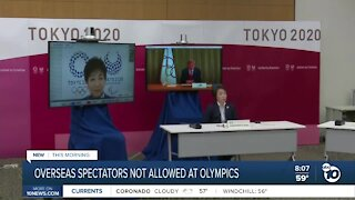 No overseas spectators at Olympics