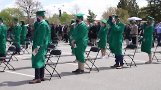 MSU's first in-person graduation since pandemic