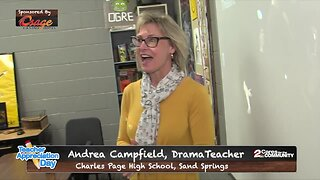 Teacher Appreciation Day Surprise: Andrea Campfield, Charles Page High School