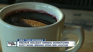 Looking to celebrate the holidays? Here's how you can enjoy festive drinks in downtown Buffalo