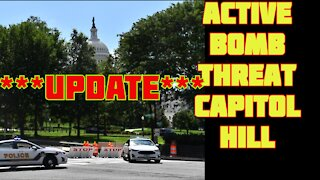 """Active Bomb Threat """"UPDATE"""" - Capitol Hill evacuated as police investigate suspicious vehicle"""