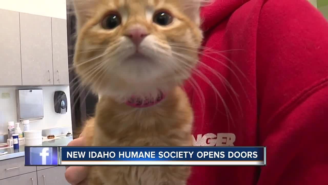 New Idaho Humane Society opens doors