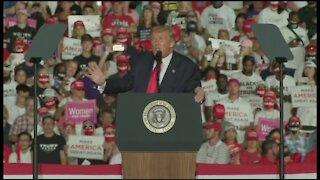 President Trump holding rally in Sanford