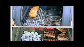 Offset Firebox Cooking