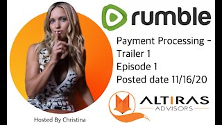Payment Processing - Altiras Trailer 1 Episode 1