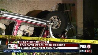 Car crashes into Cape Coral home