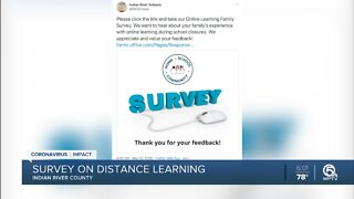 Indian River County School District asking parents for input on distance learning
