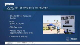 New COVID-19 testing sites