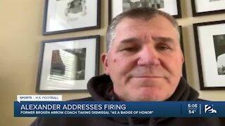 Former Broken Arrow football coach addresses firing